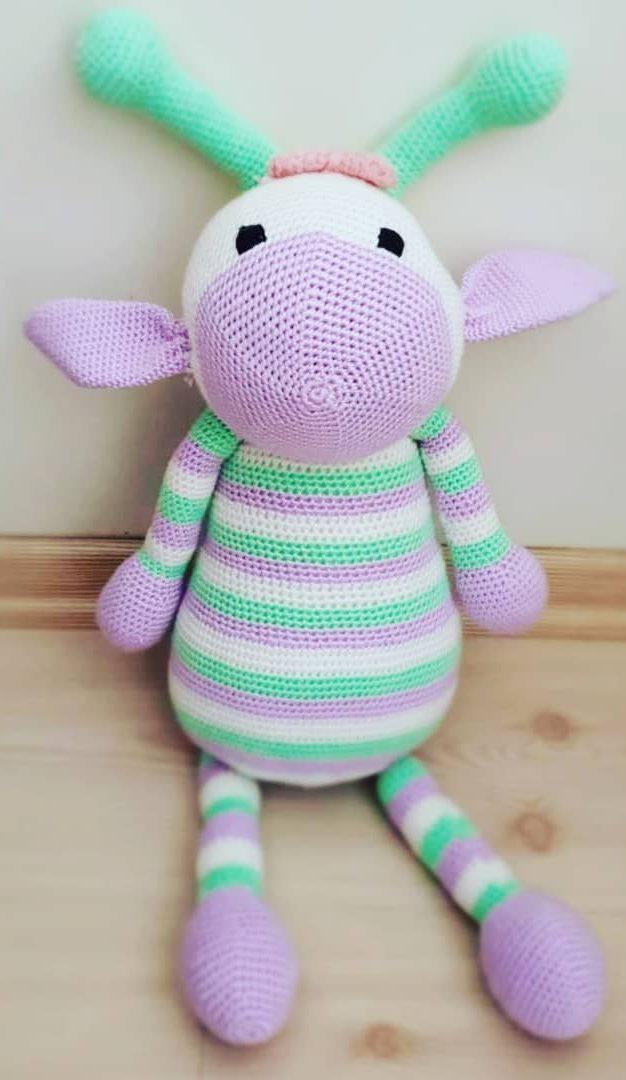 34+ Pretty Crochet Amigurumi Doll Pattern - crochetnstyle.com | 1080x626