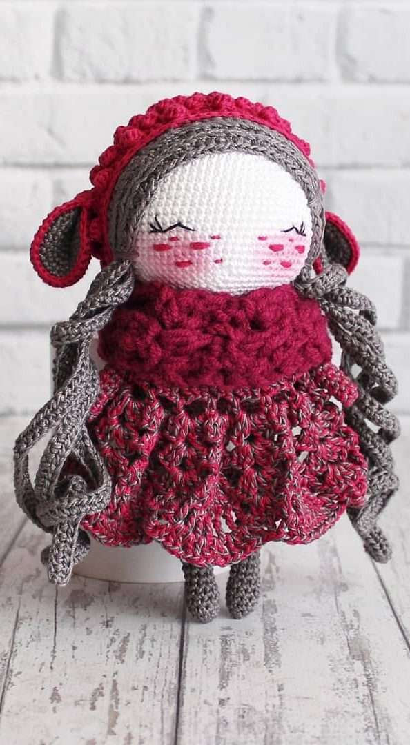 Rilakkuma & Pretty Character Amigurumi Doll Japanese Crochet ...   1080x594