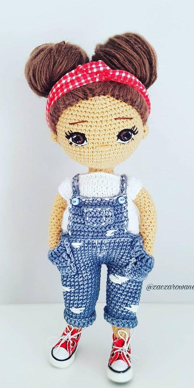 Kendra- Amigurumi Doll Crochet Pattern PDF | Patron muñeca ... | 1312x658