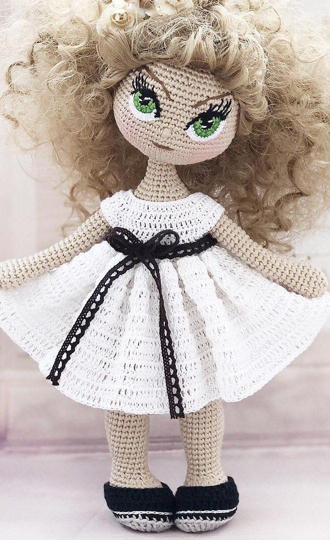 Free Crochet Amigurumi Doll Pattern (A Basic Crochet Doll Pattern ... | 1080x661