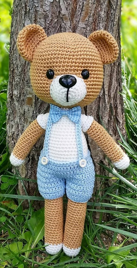 Cute Amigurumi Bears Free Crochet Patterns #knitting #bordado ... | 1109x569