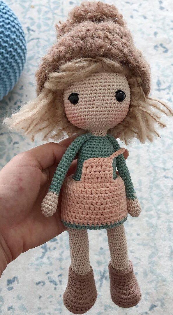 SALE Handmade doll hand crochet amigurumi doll ... - Folksy | 1080x594