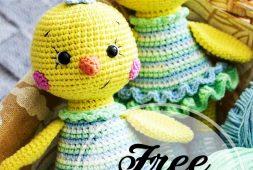 free-crochet-amigurumi-cute-chick-patterns