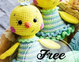 free-crochet-amigurumi-cute-chick-patterns
