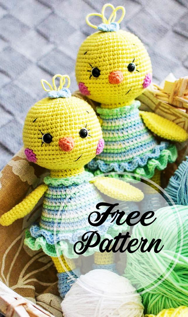 6 Crochet Amigurumi Mermaid Doll Patterns #Crochet #Doll… | Blog MST | 1080x643