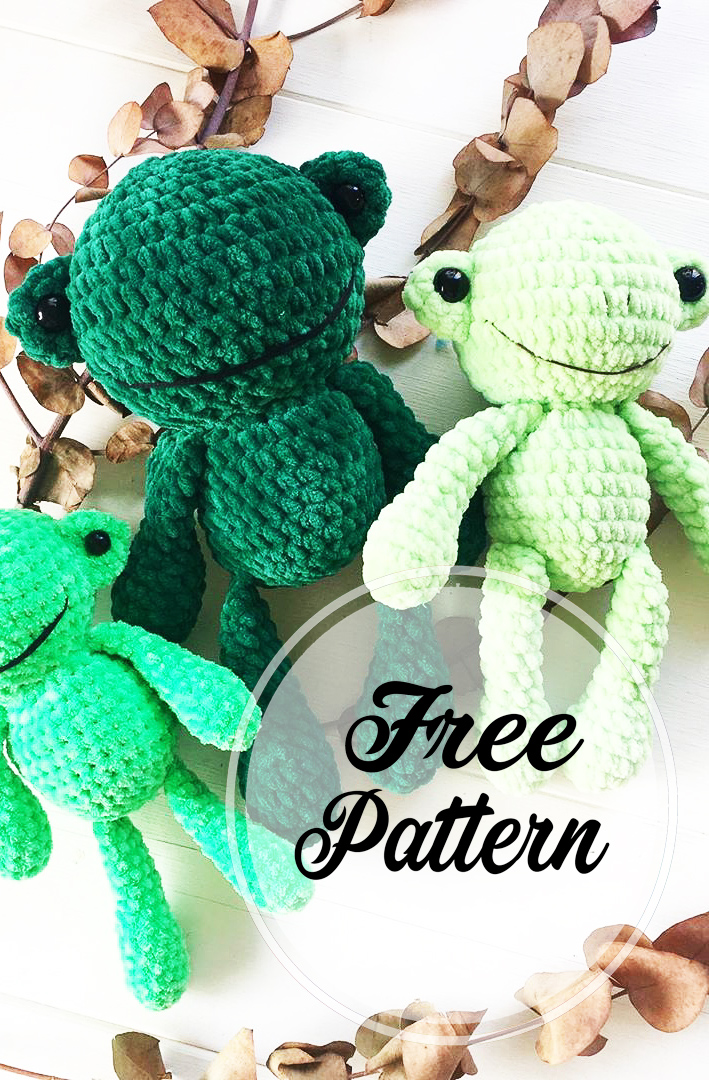 Amigurumi Sweet Frog Free Crochet Pattern | Crochet frog, Amigurumi pattern,  Crochet amigurumi free patterns | 1080x709