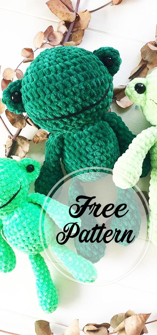 crochet pattern - frog egg cozy   1080x506