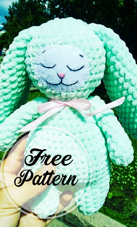 Bunny Rabbit Amigurumi - Free Crochet Pattern - StringyDingDing | 768x462