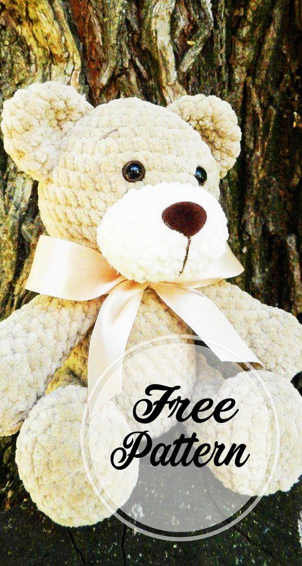 PDF Amigurumi Crochet Pattern Osito Poki Poki Bear Teddy   Etsy   1130x603