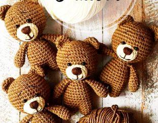 awesome-free-crochet-teddy-amigurumi-bear-pattern