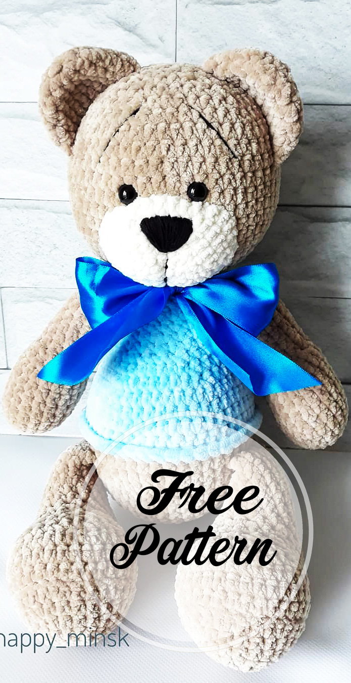 Hand Embroidery: a Personal Touch to Amigurumi | LillaBjörn's ... | 1350x695