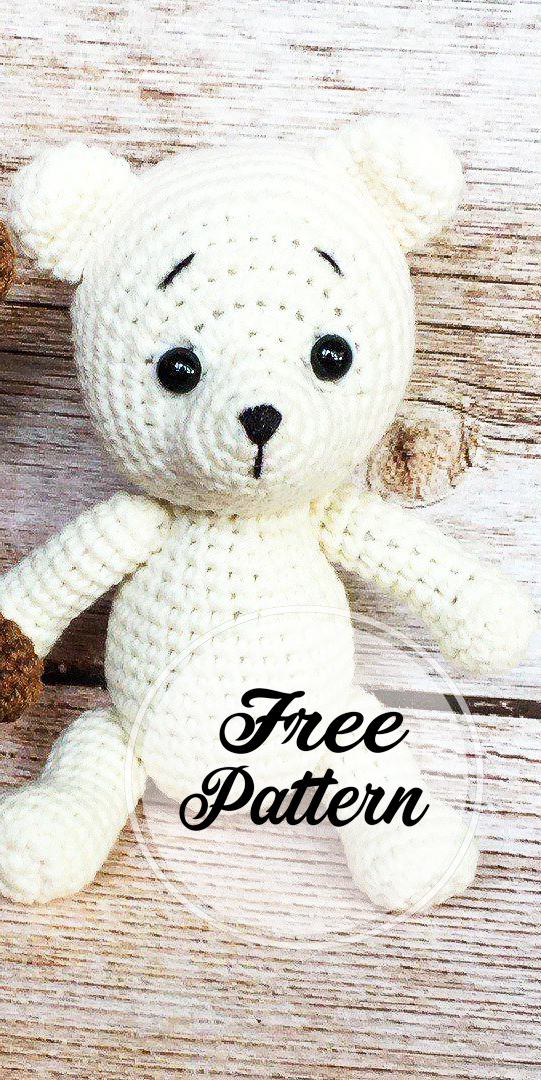 Amigurumi Bear Crochet Tutorial   Crochet bear, Crochet teddy bear ...   1080x541