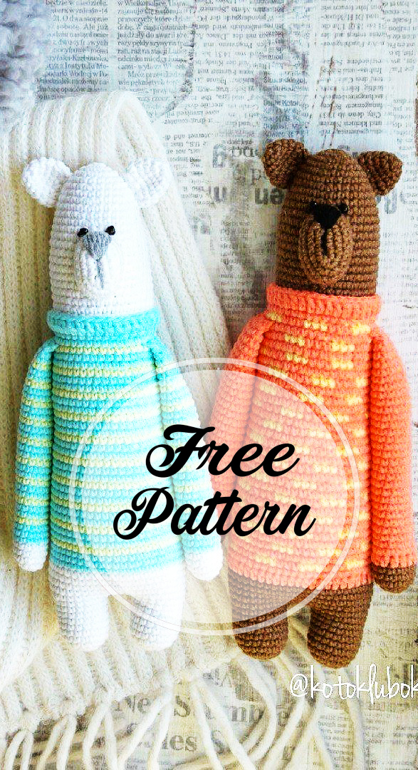 Teddy Bear Sweater – PetiteKnit | 1080x587