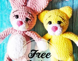 sweet-free-crochet-amigurumi-cats-and-bunny-patterns