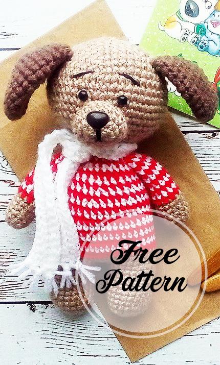 Amigurumi Teddy bear in pajamas Crochet pattern PDF. | Etsy | 715x430