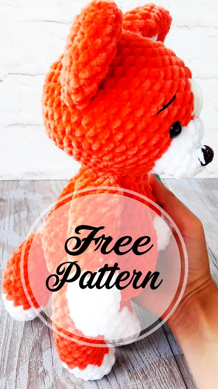 Flam, crochet fox pattern | Son's Popkes | 1246x701