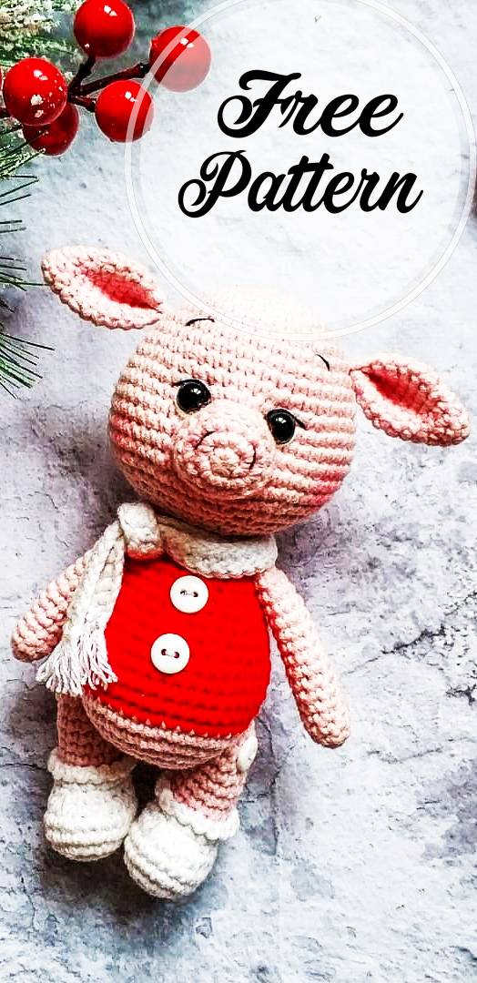 Crochet Pig Pattern - Lots Of Cute Ideas | The WHOot | 1080x524
