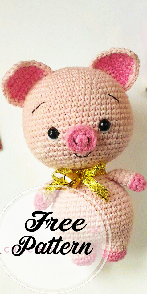 Adorable Crochet Pig Patterns Your Kids Will Love! | 951x477