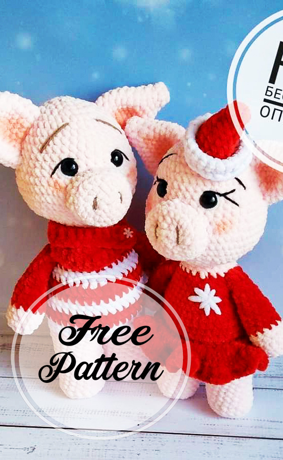 Free Crochet Patterns – Year Of The Pig – Crochet | 900x555