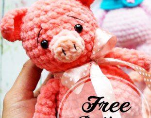 Crochet cat Murzik pattern | Amiguroom Toys | 243x311