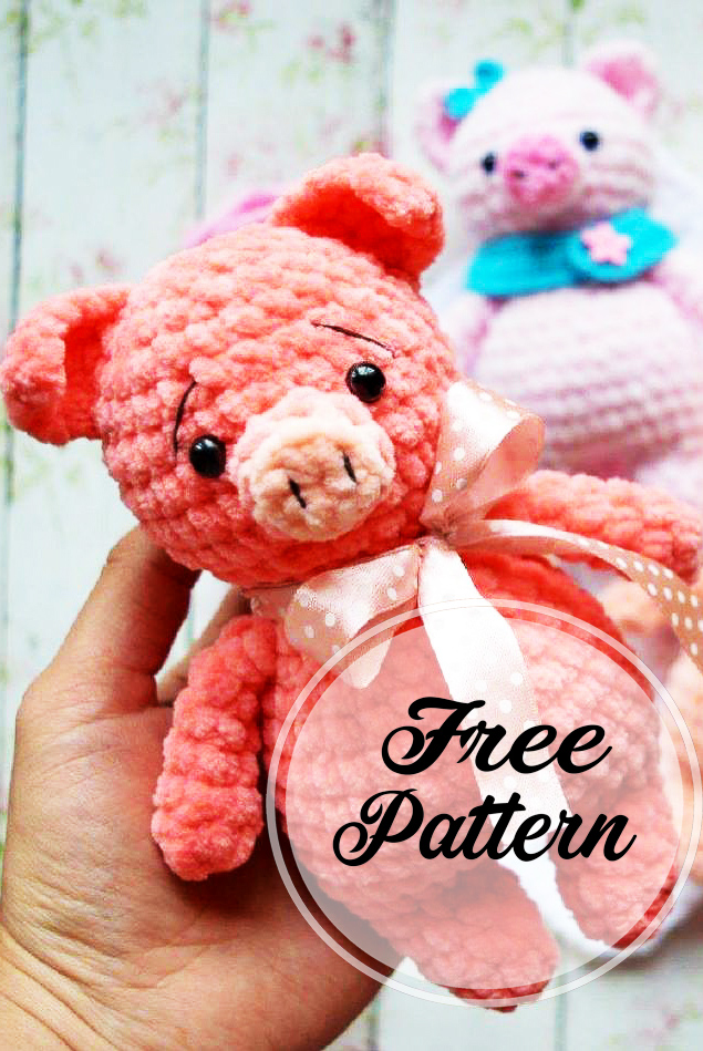 Pierre, The Chef Pig - Amigurumi Pattern - Delicious Crochet | 949x635