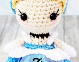 Amigurumi Princess Doll in Cape Crochet Free Pattern | 243x311