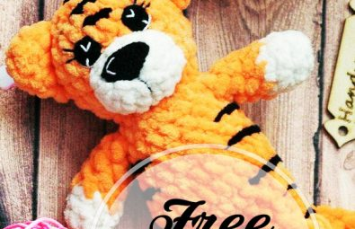 Crochet tiger doll toy Amigurumi Tiger stuffed animal Kids toys Baby ... | 255x395