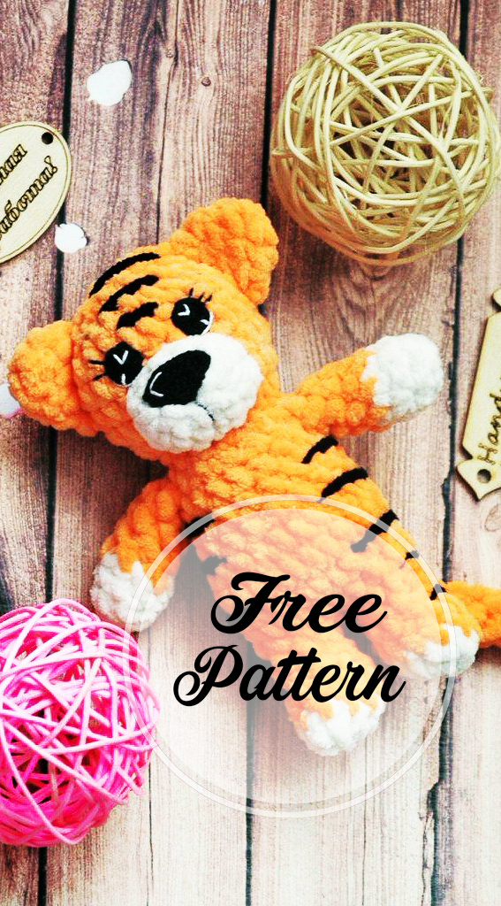 Thomas the Tiger Free Amigurumi Pattern | Amigurumi pattern ... | 1024x567