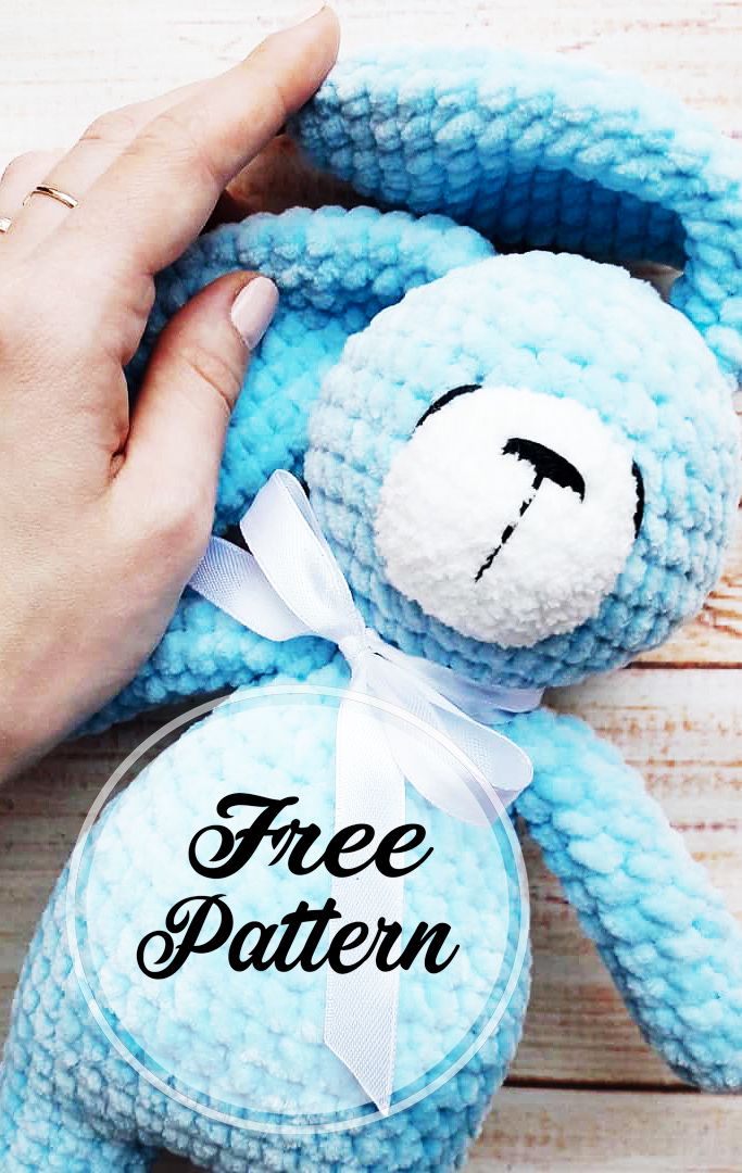 63 Free Crochet Bunny Amigurumi Patterns ⋆ DIY Crafts | 1080x683