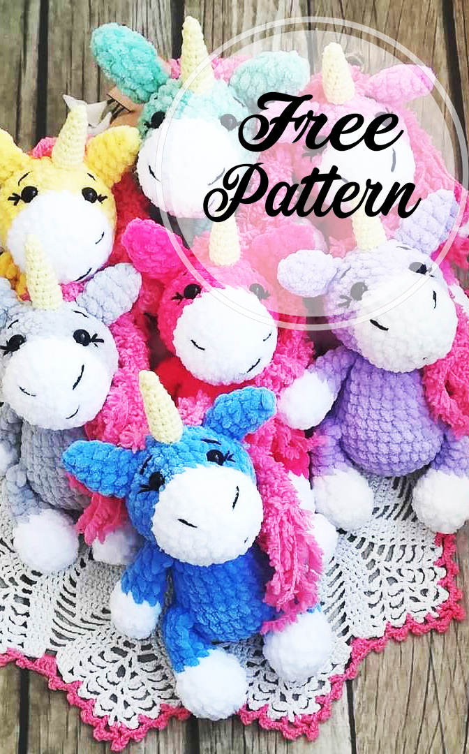Baby unicorn amigurumi pattern - Amigurumi Today | 1080x672