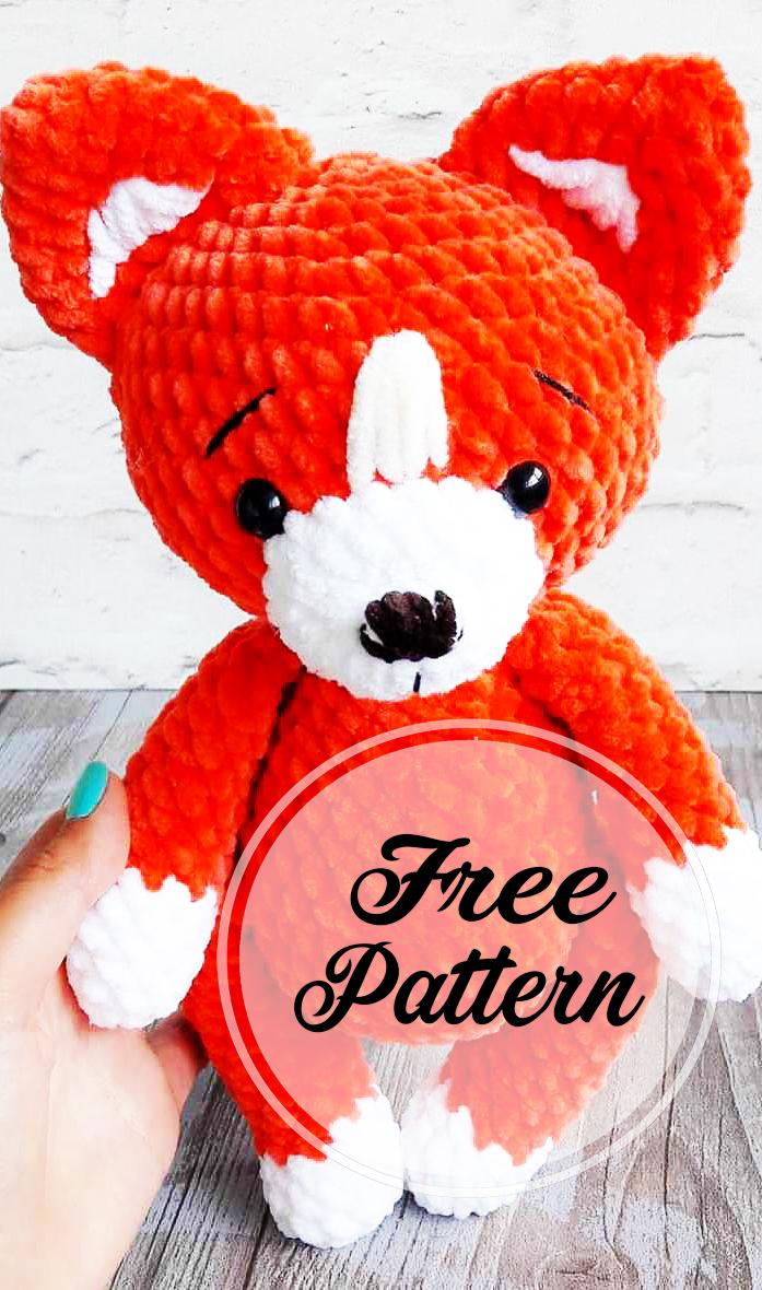 Pocket Fox Free Crochet Pattern • Spin a Yarn Crochet | 1180x697