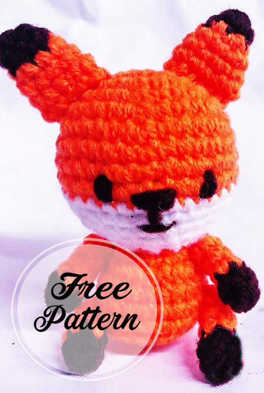 Fox Amigurumi, Mr. Furu - Free Crochet Pattern | Craft Passion | 800x538