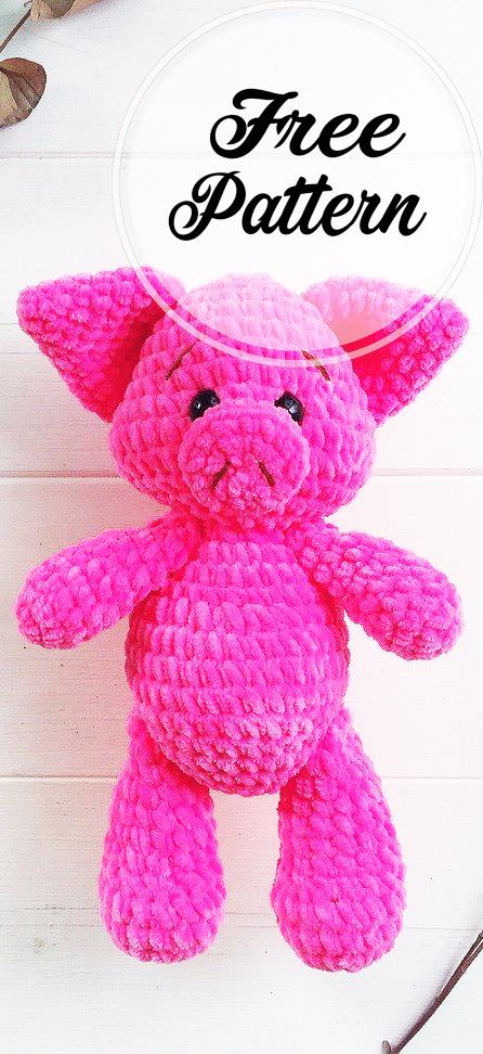 free pig amigurumi patterns Archives ⋆ Crochet Kingdom (8 free ... | 972x446