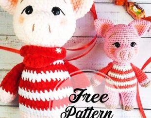 free-pig-crochet-amigurumi-pattern-for-christmas