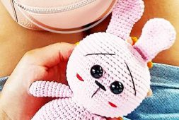 free-crochet-pink-color-bunny-amigurumi-pattern-ideas