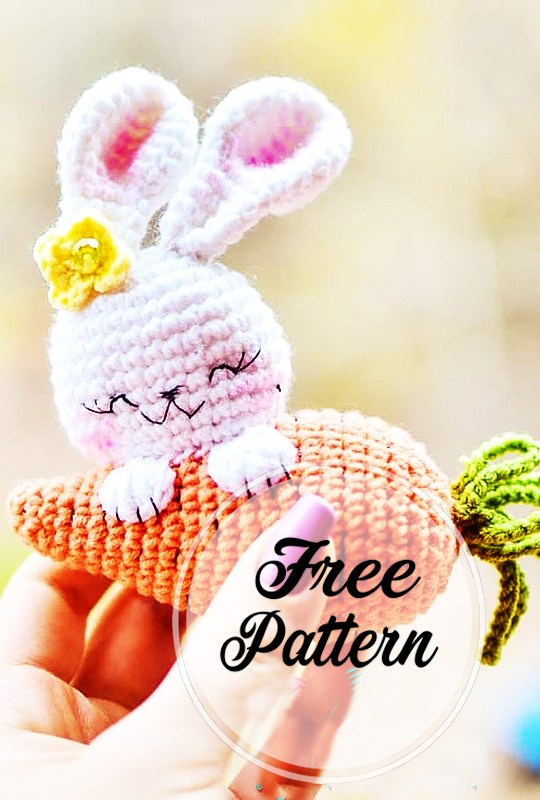 Bunny Crochet Free Pattern You Will Love This Collection | 800x540