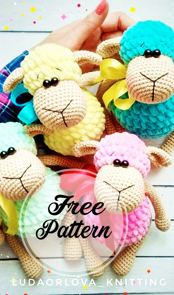 Crochet Bobble Sheep Lots Of Gorgeous Free Patterns | 977x577