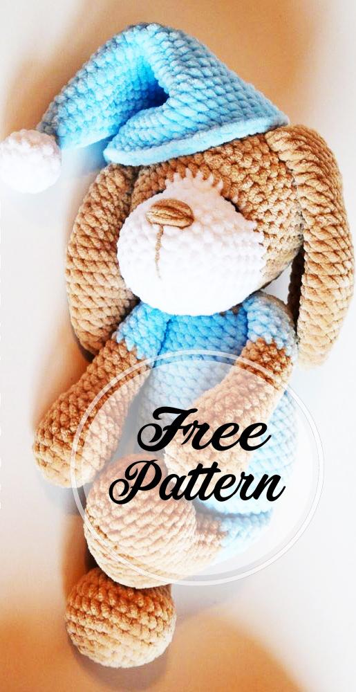 Amigurumi dog Toshka free pattern | Amiguroom Toys | 1000x515