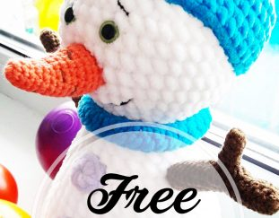free-crochet-amigurumi-snowman-pattern-design-ideas