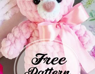 free-pink-colored-plush-bear-amigurumi-pattern